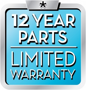 12 year parts limited warranty