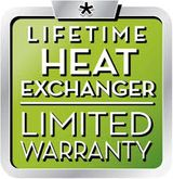 Lifetime Heat Exchanged Limited Warranty